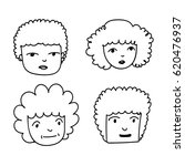 hand drawn people   Shutterstock .eps vector #620476937