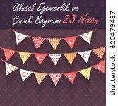 republic of turkey celebration... | Shutterstock .eps vector #620479487