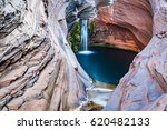 hamersley gorge  spa pool ...   Shutterstock . vector #620482133