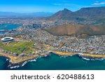 cape town panorama  bird's eye... | Shutterstock . vector #620488613