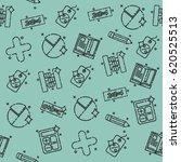algebra concept icons pattern | Shutterstock .eps vector #620525513