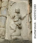 ancient stone carving of siva... | Shutterstock . vector #620552183