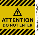 do not enter sign | Shutterstock .eps vector #620587403