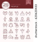 line icons people | Shutterstock .eps vector #620620433