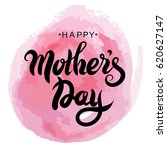 mother's day greeting card.... | Shutterstock .eps vector #620627147
