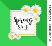 spring sale background with... | Shutterstock .eps vector #620628263