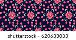 pretty vintage feedsack pattern ... | Shutterstock .eps vector #620633033