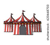 circus tent icon | Shutterstock .eps vector #620668703
