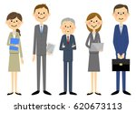 business team people in suit | Shutterstock .eps vector #620673113