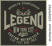 vintage biker graphics and... | Shutterstock .eps vector #620696963