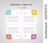 modern info graphic template... | Shutterstock .eps vector #620702573