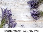 dry lavander design with... | Shutterstock . vector #620707493