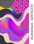 geometric vector backgrounds.... | Shutterstock .eps vector #620732273