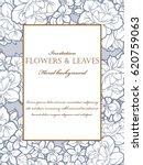 vintage delicate invitation... | Shutterstock .eps vector #620759063