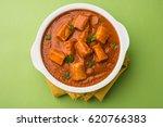 paneer butter masala or cheese... | Shutterstock . vector #620766383