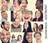 set of diversity people...   Shutterstock . vector #620786987