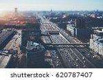 true tilt shift shooting of...   Shutterstock . vector #620787407
