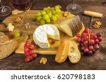 a photo of a cheese selection... | Shutterstock . vector #620798183