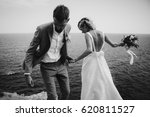 wedding couple | Shutterstock . vector #620811527