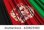 fragment flag of afghanistan.... | Shutterstock . vector #620825483