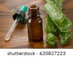 aloe vera extract and fresh... | Shutterstock . vector #620827223