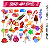 illustration of full collection ... | Shutterstock .eps vector #620833223