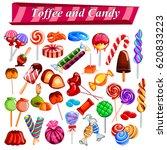 illustration of full collection ... | Shutterstock .eps vector #620833223