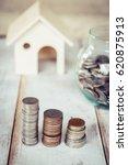 saving money | Shutterstock . vector #620875913
