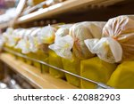 bread on the shelf | Shutterstock . vector #620882903