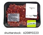 grass fed  locally sourced beef. | Shutterstock . vector #620893223