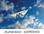 vector dollar banknote like... | Shutterstock .eps vector #620903453