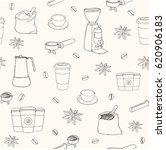 vector seamless pattern. hand... | Shutterstock .eps vector #620906183