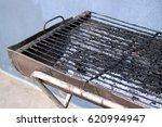 a portable charcoal grill for