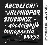 vector alphabet. | Shutterstock .eps vector #621017267