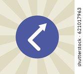 arrow line icon. sign design....