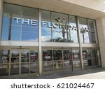 florida mall entrance on 7 17... | Shutterstock . vector #621024467