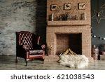 Vintage Living Room  Retro...