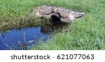 Culvert With Stone And A Littl...