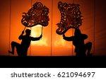 "grand shadow play ""nang yai""  ... | Shutterstock . vector #621094697"