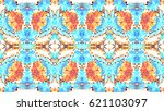 mosaic colorful artistic...   Shutterstock . vector #621103097