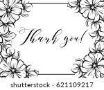romantic invitation. wedding ... | Shutterstock . vector #621109217