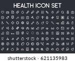 health icon set | Shutterstock .eps vector #621135983