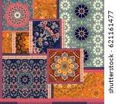 Patchwork Pattern. Stylized...