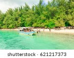 tahiti  french polynesia  ...   Shutterstock . vector #621217373