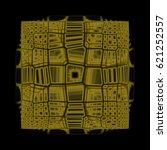 Intricate Yellow   Brown...