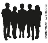 Group Of People Vector...