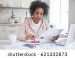 financial literacy concept.... | Shutterstock . vector #621332873