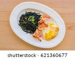 Spaghetti Fried Shrimp And Basil