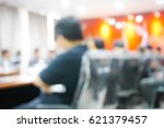 blurred background business... | Shutterstock . vector #621379457
