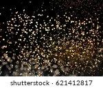 glitter lights or sparks... | Shutterstock . vector #621412817